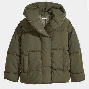 H&M oversized puffer jacket